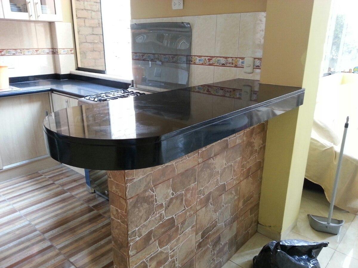 granito negro absoluto para cocina 150 metro lineal u