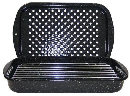 granito ware 3-piezas hornear, asar, y set pan grill