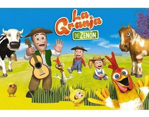 granja de zenon muñecos vaca caballo pollito rana chancha