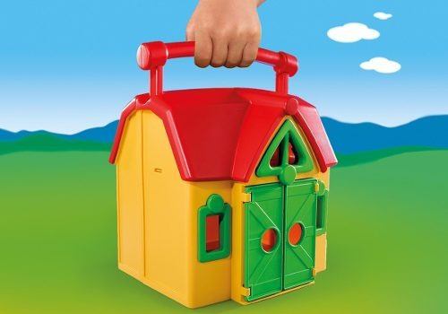 granja maletin c/ animales playmobil preschool ploppy 276962