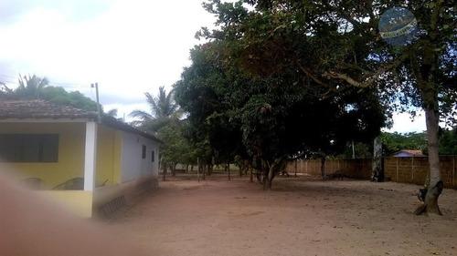 granja perto do centro de macaíba, com 4.000m² de área. - ch0001