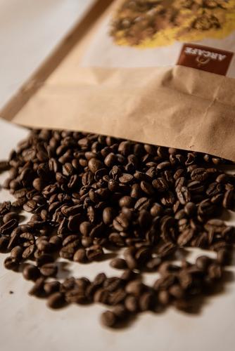 grano molido, café