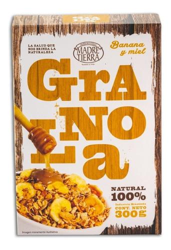 granola banana con miel madre tierra 300g