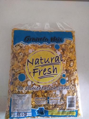 granola mix  de cereales