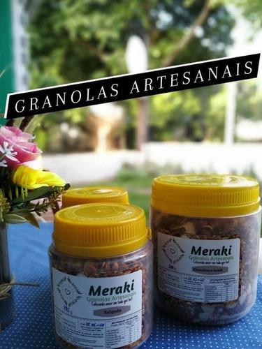 granolas artesanais livre de aditivos e sem conservantes