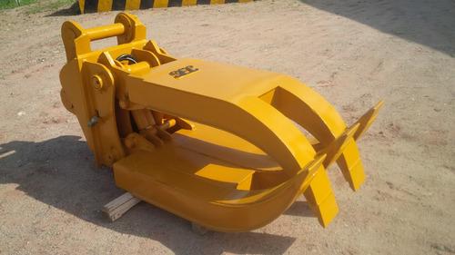 grapa hidraulica garra para excavadora caterpillar 320