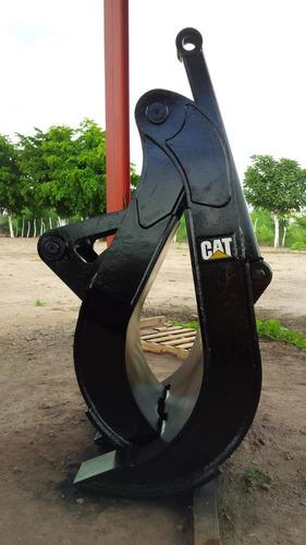 grapa para chatarra excavadora caterpillar 330 330b 330c