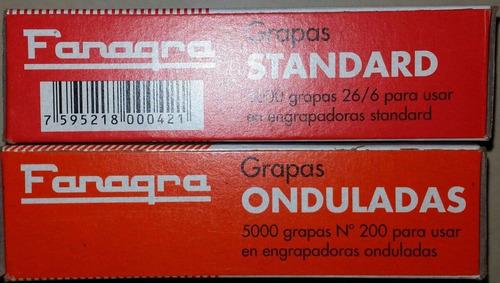 grapas lisas fanagra 26/6 (cajax5000)