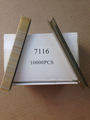 grapas - lote de 12 cajas