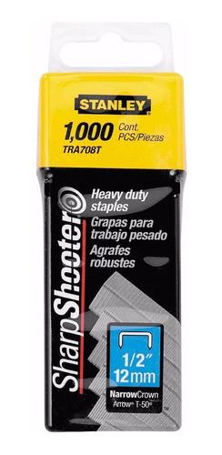 grapas stanley  12 mm 1/2 para modelos stanley tr150 y tr250