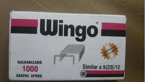 grapas wingo similar a 9 (23)/12 galvanizado 1000