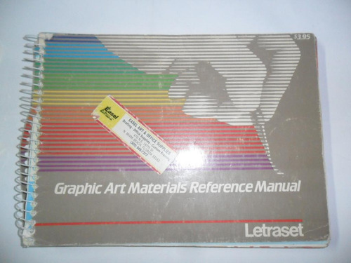 graphic art materials reference manual letraset 1986