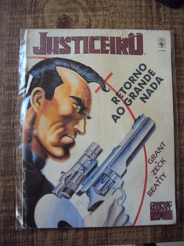 graphic marvel # 06 - justiceiro - editora abril