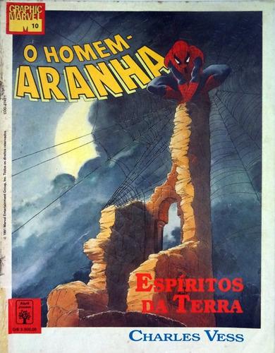 graphic marvel 10 homem aranha espíritos da terra