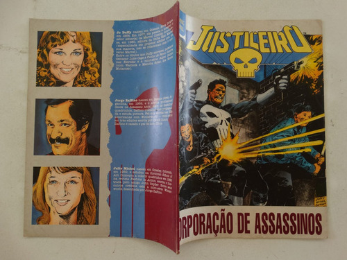 graphic marvel nº 2! justiceiro! julho 1990!