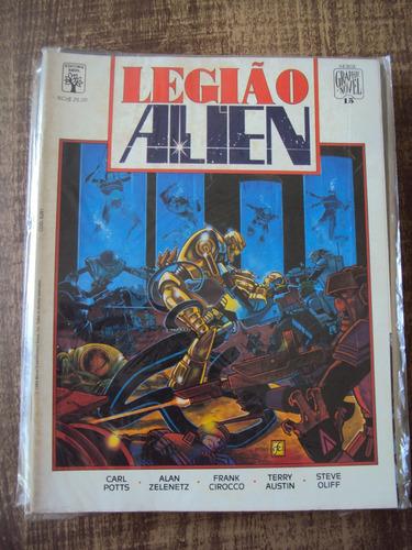 graphic novel # 15 - legião alien