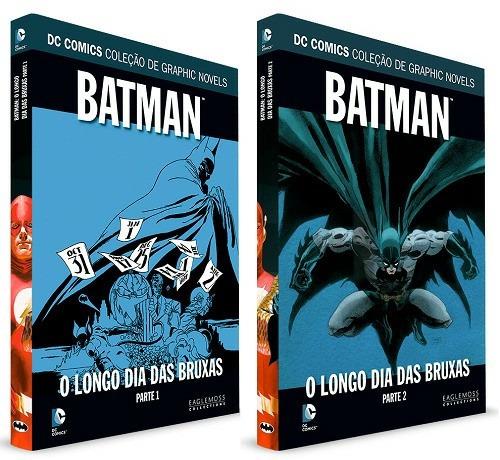 graphic novel - eaglemoss - dc - complete sua coleção