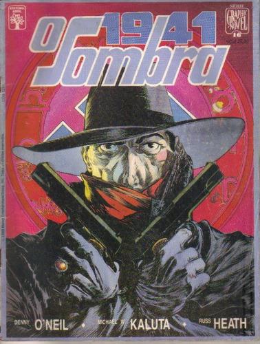graphic novel nº 16 o sombra 1941 ed. abril