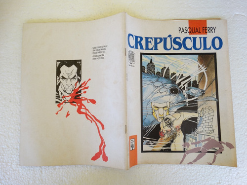 graphic novel nº 25! crespúculo! ed. abril jan 1991!