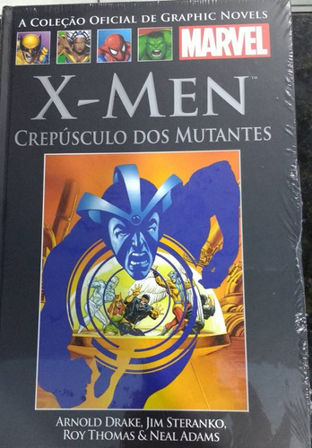 graphic novel  xv - x-men crepúsculo dos mutantes - salvat