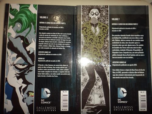 graphic novels batman longo dia das bruxas 1 e 2 excelentes