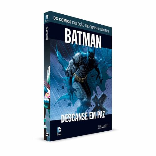 graphic novels eaglemoss batman descanse em paz volume 43