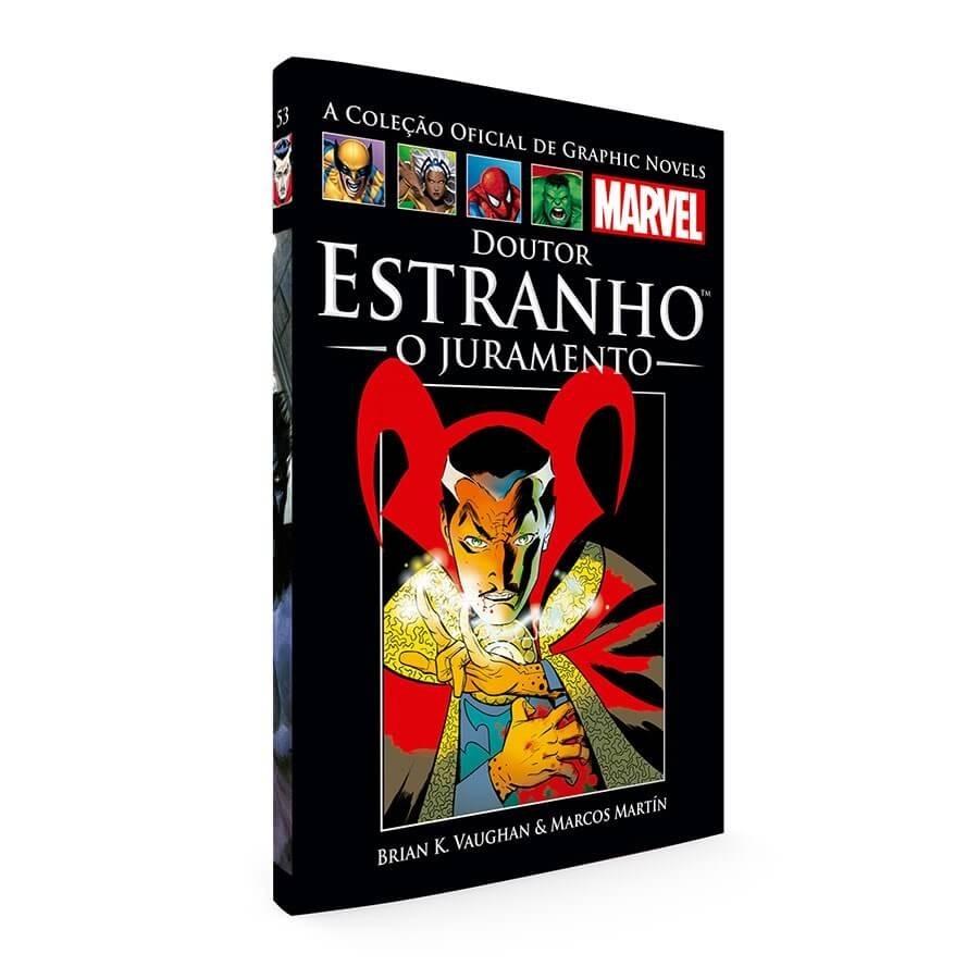 2343d7e58c6 Graphic Novels Marvel Nº 33 - Doutor Estranho - O Juramento - R  35 ...