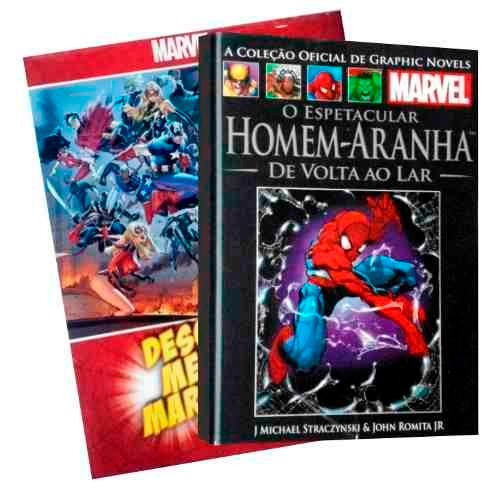 graphic novels marvel salvat 3 volumes para escolher
