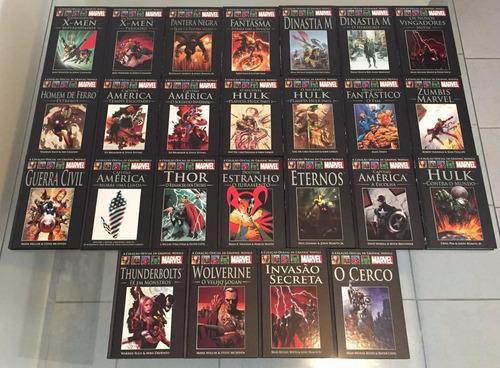 graphic novels marvel salvat diversas edições - venda avulsa