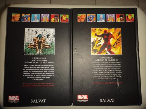 graphic novels salvat 8 demolidor 9 homem aranha frete grats