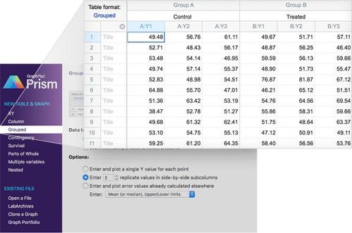 graphpad prism 8 (novo) 2019 ou 7.4 - windows ou mac