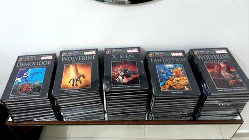 grapic novel marvel salvat coleção quase completa 49 hqs