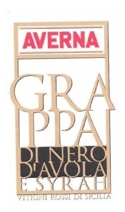 grappa italiana averna di nero avola syrah envio gratis caba