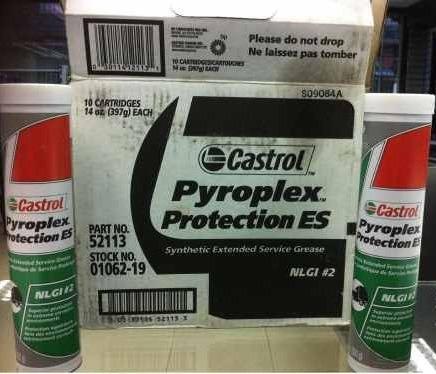 grasa 100% sintetica pyroplex castrol