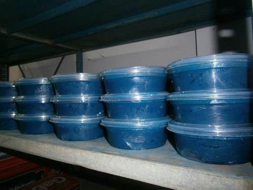 grasa azul para tripoide de 200gr aprox.