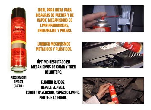 grasa lubricante sintética gs bujes tren delatero locx 350ml