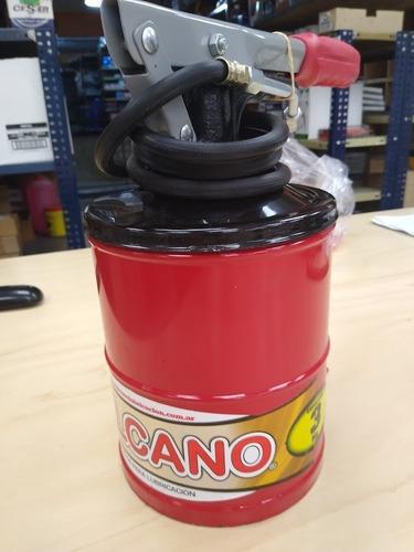 grasera engrasador de pie a palanca 3 kg vulcano portatil