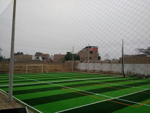 grass sintetico - cesped artificial - residencial.
