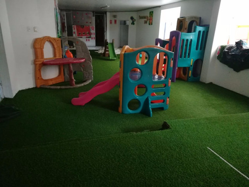 grass sintético decorativo para colegio, jardines