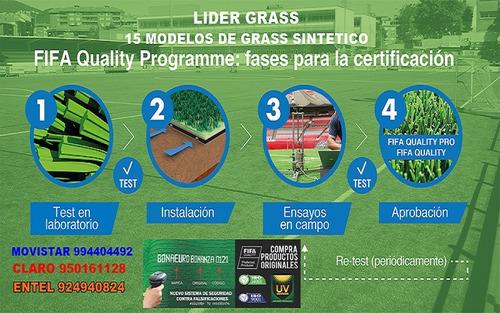 grass sintético instalación completa $10 dolares, todo perú