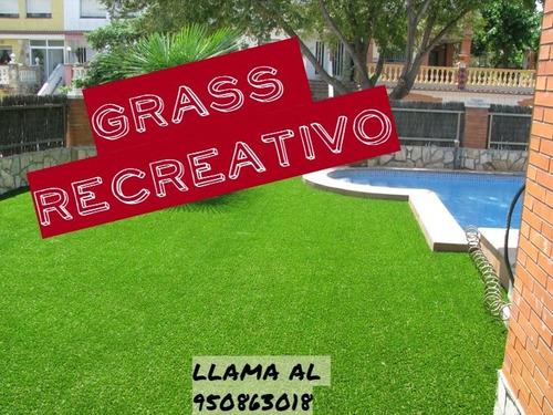 grass sintético precio  m2