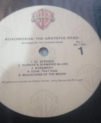 grateful dead lp aoxomoxoa importado (jerry garcia)