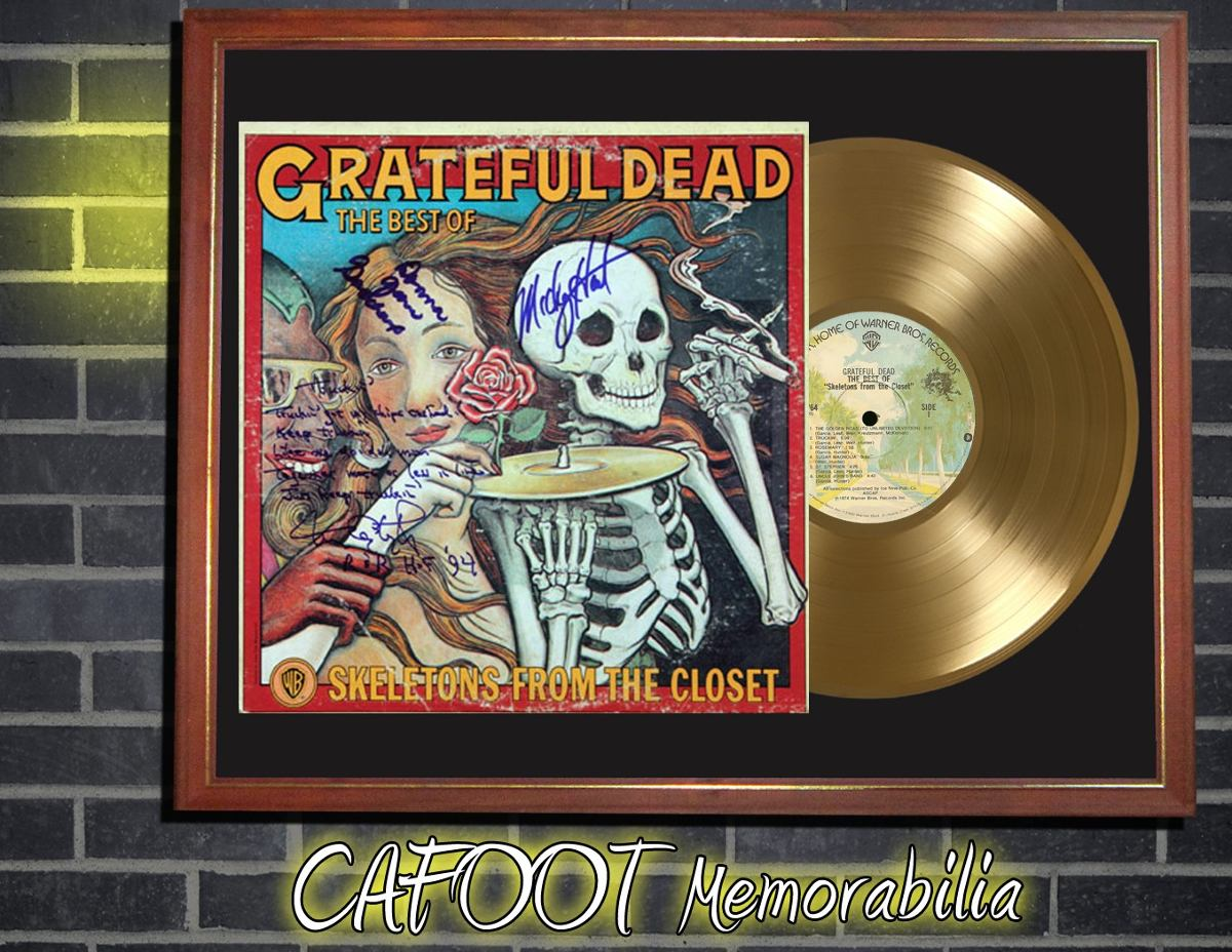 Grateful Dead The Best Of Skeletons From The Closet Lp Oro