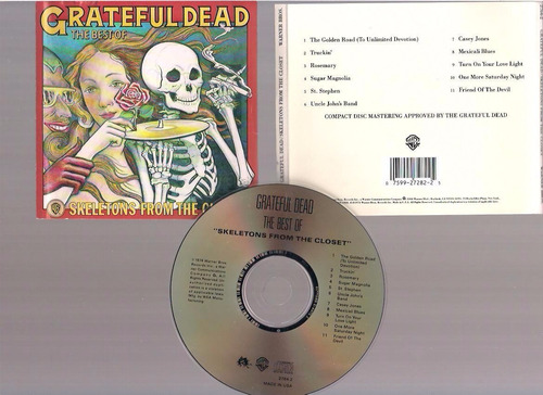 grateful ded - skeletons from the closet  - cd - by maceo