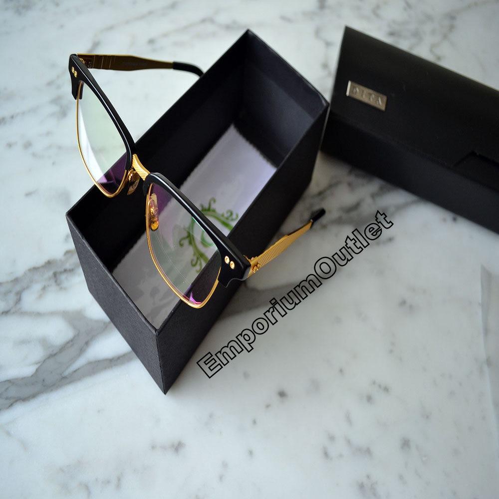 70abdf6048883 Carregando zoom... armação oculos de grau dita gucci versace titanio ouro  18k ada13754d106d ...
