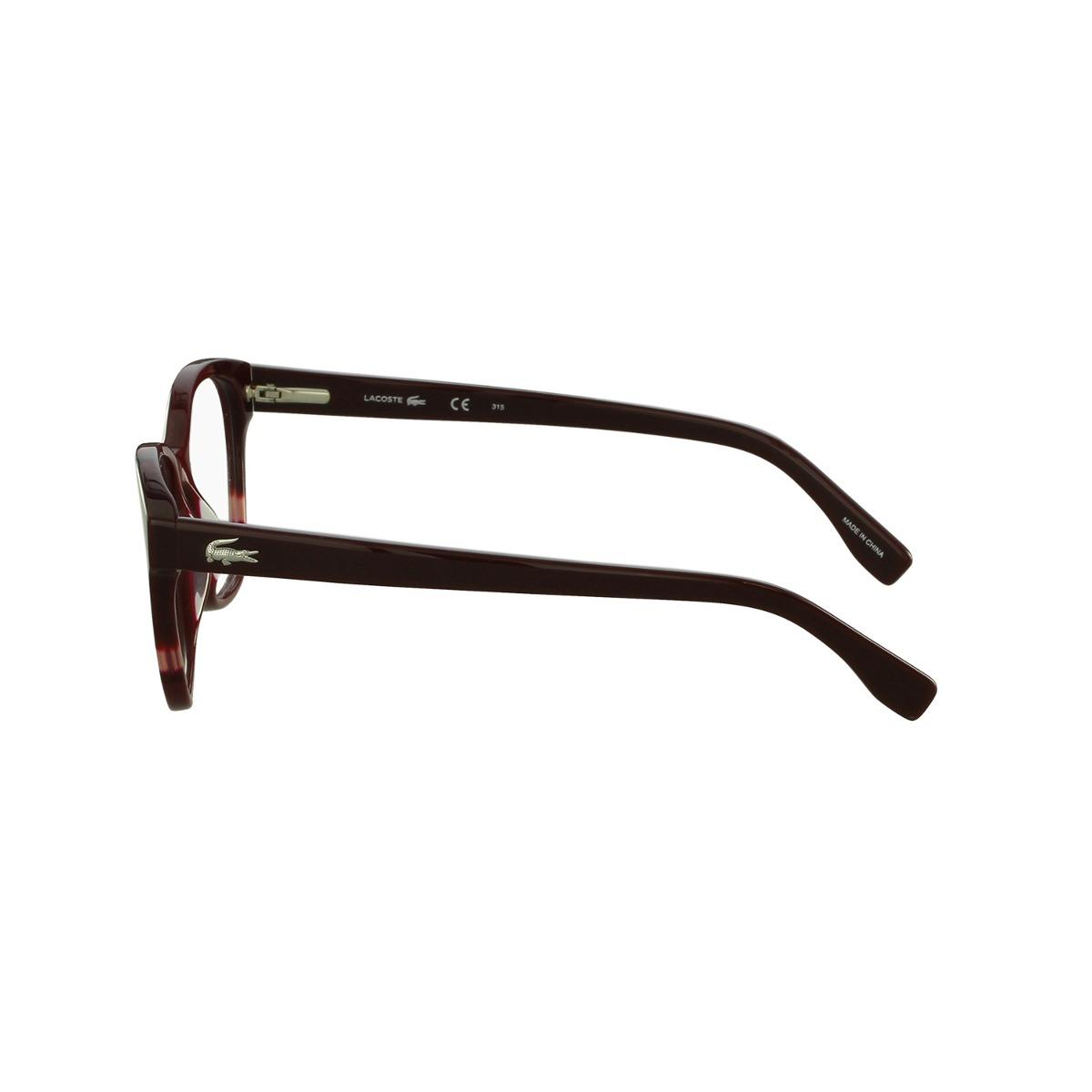 Óculos De Grau Lacoste Casual Vermelho - R  665,00 em Mercado Livre e20fd5426b