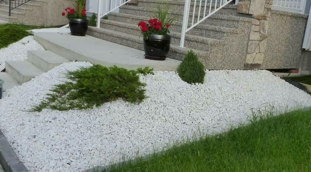 Precio grava blanca trendy amazing imagen de marmolica blanca para jardines with comprar grava - Grava para jardin precio ...