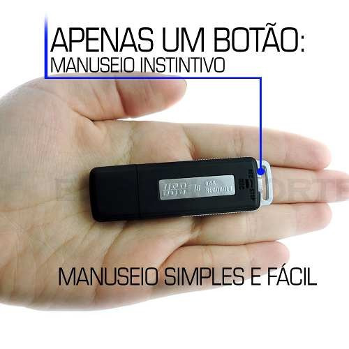 gravaçao de audio gravador espiao portatil voz mini ba1