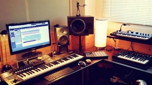 gravações de cantor,dupla e banda. studio totalmente digital