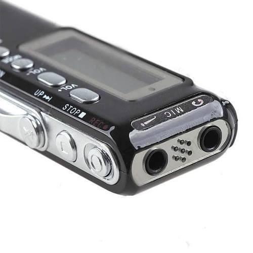 gravador áudio mini